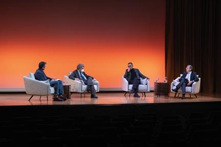 De izda. a drcha.: Íñigo Alfonso, Alfredo Martínez Hernández, José Manuel López Nicolás y Antonio San José