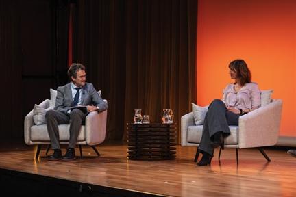 De izda. a drcha.: Íñigo Alfonso y Sandrine Morel