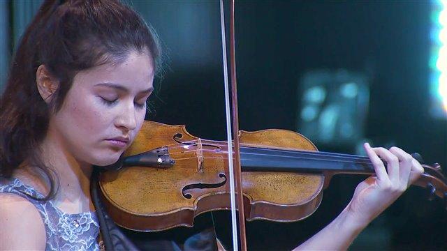 El virtuosismo del violín