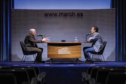 De izda. a drcha.: Joaquín Soriano y Íñigo Alfonso