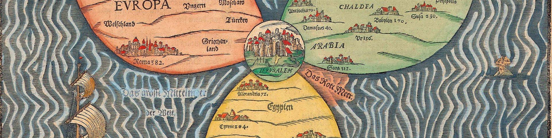 La cartografía del Renacimiento. Atlas y titanes