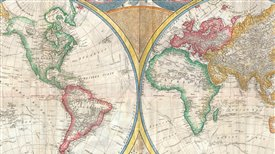 De Ptolomeo a los satélites: la historia de los mapas (V): Mapas de todos los colores, siglos XVIII y XIX