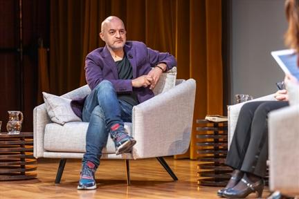De izda. a drcha.: Bruno Galindo y Mariángeles Fernández