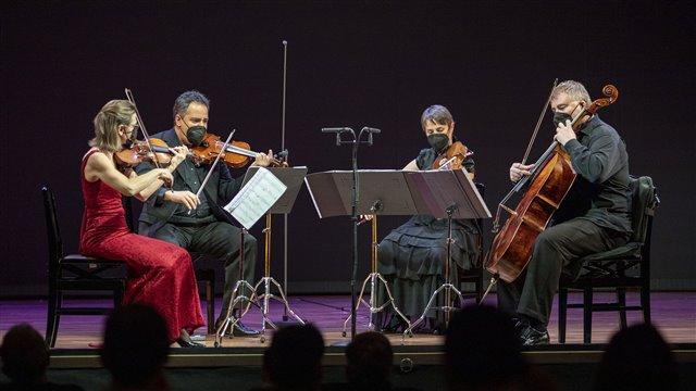 """Conrado del Campo: Quartet No. 1 in D minor, """"Oriental""""."""