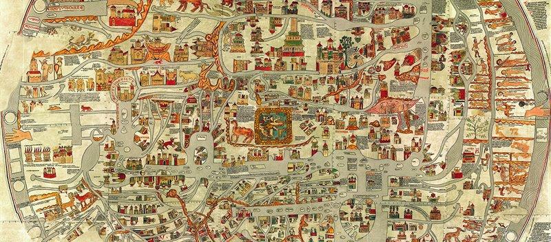 De Ptolomeo a los satélites: la historia de los mapas