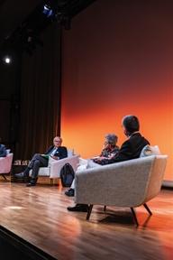 De izda. a drcha.: Francisco Aldecoa, Araceli Mangas y Antonio San José