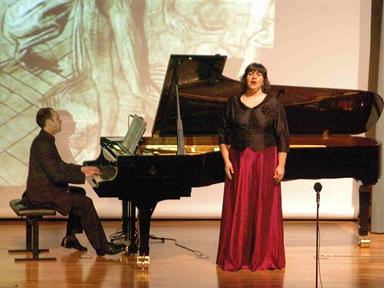Concierto interpretado por: Moisés Fernández Vía y Nuria Orbea