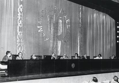 Ciclos de conferencias: Novela española contemporánea (VI). Mesa redonda final