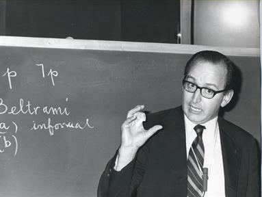 "Lecture Series: Cuestiones de metamatemática (III). ""The fundamental metamathematical decision problem"""