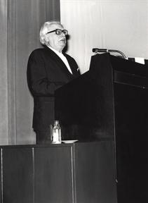 Félix Klee (hijo del artista,pronuncio unas palabras en alemán)