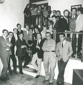 Entre ellos, integrantes del movimiento artístico
