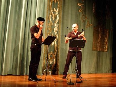De izda. a drcha.: Alvaro Lavín y Chani Martín