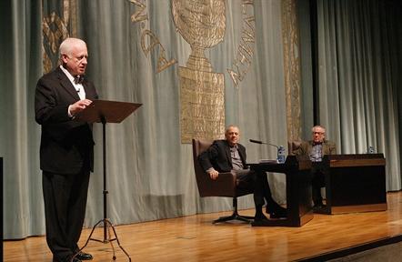 De izda. a drcha.: Juan Echanove, Lluís Pasqual y Luciano García Lorenzo