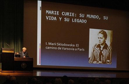 Lecture Series: Marie Curie: her world, her life and her legacy (I). The way from Varsovia to Paris