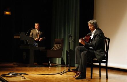 De izda. a drcha: Andrés Batista y Adolfo Perales