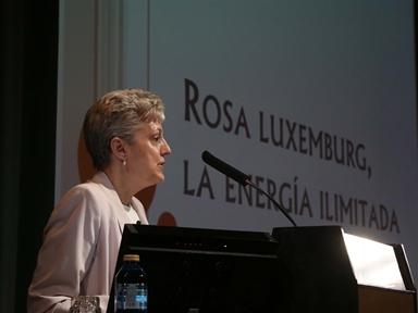 Ciclos de conferencias: Singulares (II). Rosa Luxemburg, la energía ilimitada