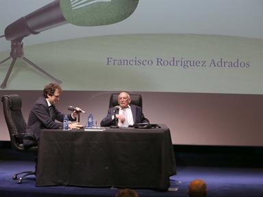 De izda. a drcha.: Iñigo Alfonso y Francisco Rodríguez Adrados