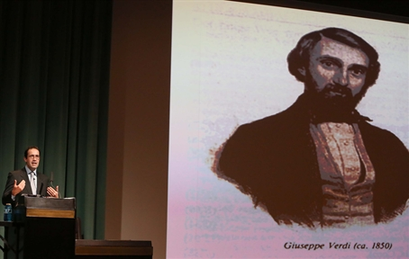 Lecture Series : Giuseppe Verdi: his life, his work, his time (IV). From the Drama of Ideas to the Invented Truth (1857-1887)