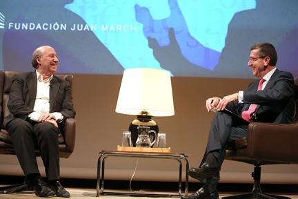 De izda. a drcha.: José María Pérez