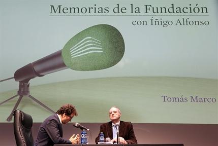 De izda. a drcha.: Iñigo Alfonso y Tomás Marco