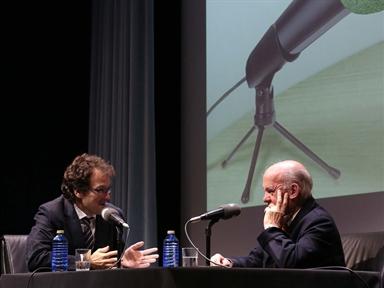 De izda. a drcha.: Iñigo Alfonso y Juan Antonio Sagardoy