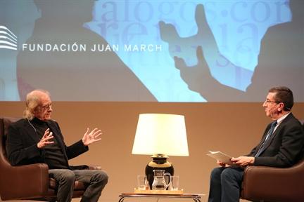 De izda. a drcha. Luis Eduardo Aute y Antonio San José