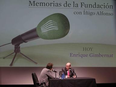 De izda. a drcha.: Iñigo Alfonso y Enrique Gimbernat