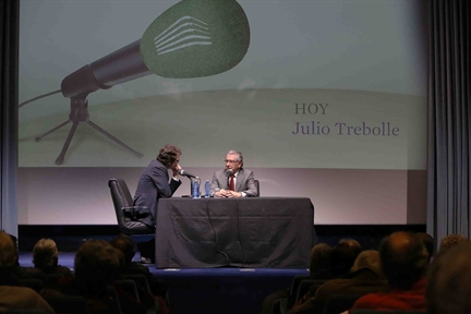 De izda. a drcha.: Iñigo Alfonso y Julio Trebolle