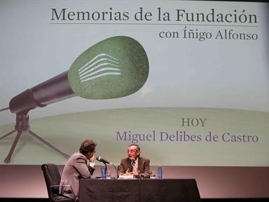 De izda. a drcha.: Íñigo Alfonso y Miguel Delibes de Castro