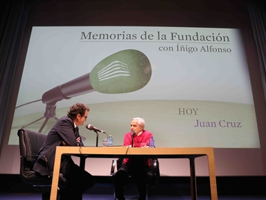 de izda. a drcha.: Íñigo Alfonso y Juan Cruz