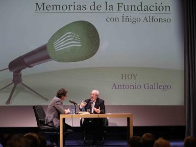 De izda. a drcha.; Íñigo Alfonso y Antonio Gallego