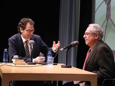 De izda. a drcha.: Íñigo Alfonso y Camilo Cela Conde