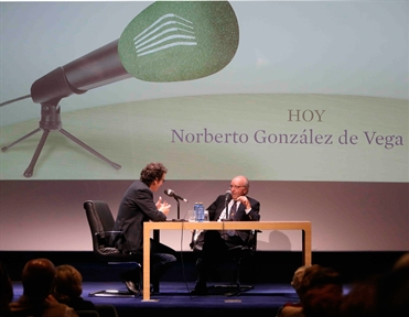 De izda. a drcha.: Íñigo Alfonso y Norberto González de Vega