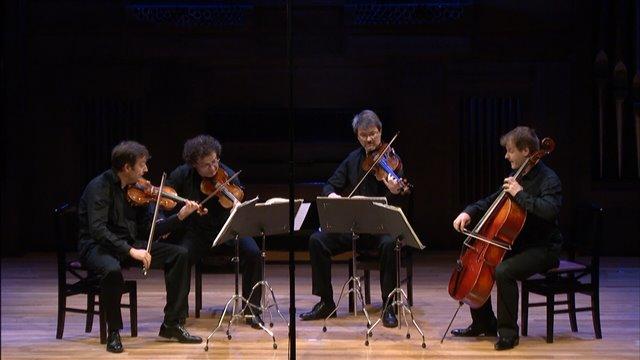 Cuarteto en Sol menor de Debussy