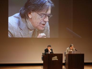 De izda a drcha.: Mauro Armiño y Josep Maria Flotats