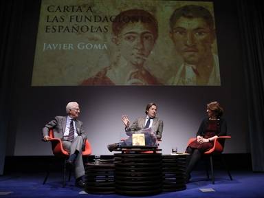 "Other lectures: Presentation of the book ""Carta a las fundaciones españolas"" by Javier Gomá"
