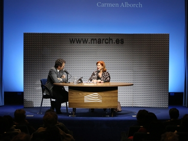 Memories of the Fundación: Carmen Alborch