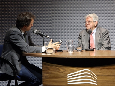 De izda. a drcha.: Íñigo Alfonso y Ángel Sánchez de la Torre