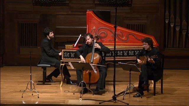 Telemann: Sonata en Re mayor para violonchelo y contínuo