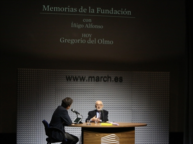 Memories of the Fundación : Gregorio del Olmo interviewed by Íñigo Alfonso