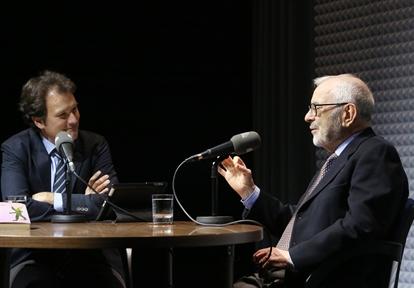 De izda. a drcha.; Íñigo Alfonso y Gregorio del Olmo