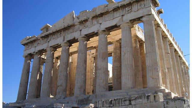 Atenas, la blancura de la diosa