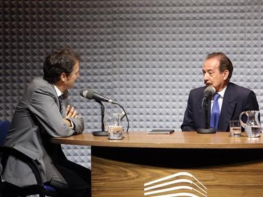 De izda. a drcha.: Íñigo Alfonso y Juan Díez Nicolás