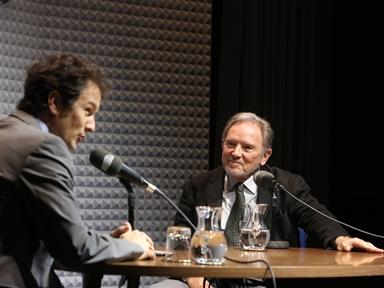 De izda. a drcha.: Íñigo Alfonso y Francisco Fernández-Longoria