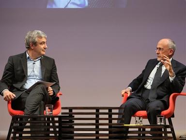 De izda. a drcha.: Luis Garicano y Óscar Fanjul