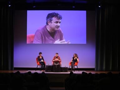De izda. a drcha.: Karina Garantivá, Ernesto Caballero y Marta Betriu