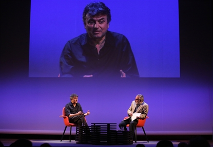 Poética y Teatro: Ernesto Caballero (II). Diálogo con Luciano García Lorenzo y lectura dramatizada por Karina Garantivá y Marta Betriu