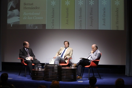 "Other lectures : Round table about the book ""Bartolomé de las Casas"" by Bernat Hernández"