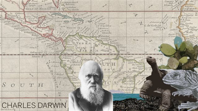 The Young Darwin: the travel of a naturalist around the world