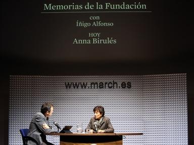 Íñigo Alfonso y Anna Birulés